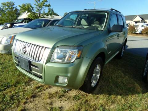 2008 Mercury Mariner for sale at Creech Auto Sales in Garner NC