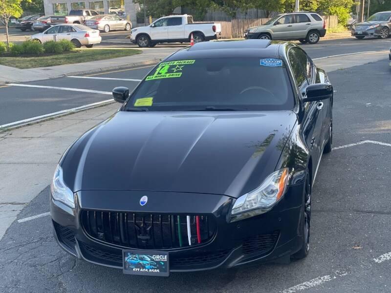 2014 Maserati Quattroporte for sale at Circle Auto Sales in Revere MA