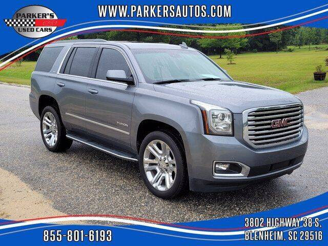 2019 GMC Yukon for sale at Parker's Used Cars in Blenheim SC