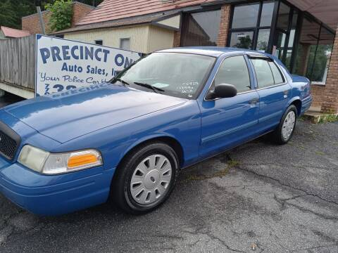 2009 Ford Crown Victoria for sale at Precinct One Auto Sales in Cartersville GA
