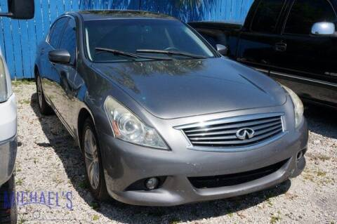 2012 Infiniti G25 Sedan for sale at Michael's Auto Sales Corp in Hollywood FL