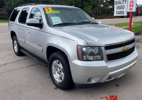 2012 Chevrolet Tahoe for sale at VSA MotorCars in Cypress TX