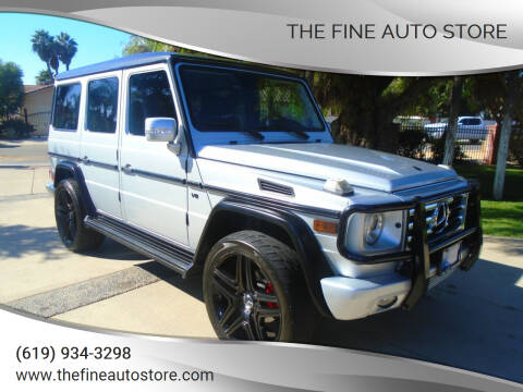 2012 Mercedes-Benz G-Class for sale at The Fine Auto Store in Imperial Beach CA