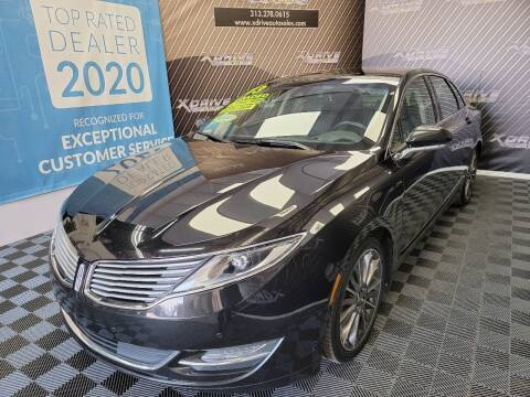 2013 Lincoln MKZ for sale at X Drive Auto Sales Inc. in Dearborn Heights MI