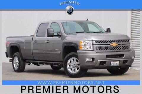 2013 Chevrolet Silverado 3500HD for sale at Premier Motors in Hayward CA