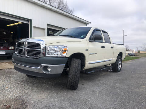 2007 Dodge Ram Pickup 1500 for sale at Purpose Driven Motors in Sidney OH