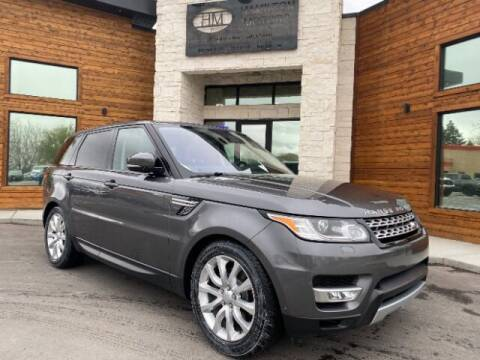 2016 Land Rover Range Rover Sport for sale at Hamilton Motors in Lehi UT