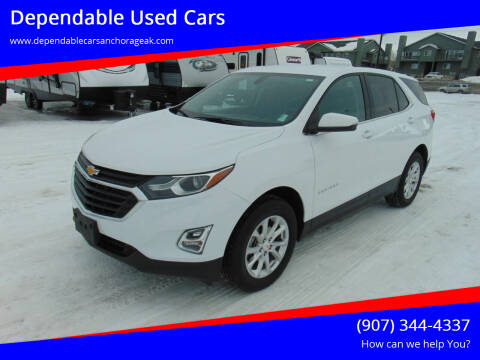 2019 Chevrolet Equinox for sale at Dependable Used Cars in Anchorage AK