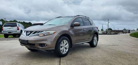 2013 Nissan Murano for sale at WHOLESALE AUTO GROUP in Mobile AL