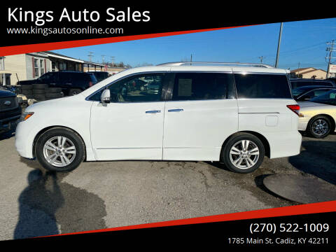 2011 Nissan Quest for sale at Kings Auto Sales in Cadiz KY