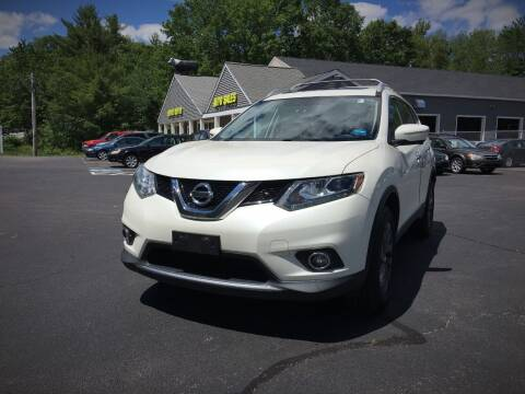 2016 Nissan Rogue for sale at 207 Motors in Gorham ME
