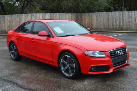 2012 Audi A4 for sale at Coleman Auto Group in Austin TX