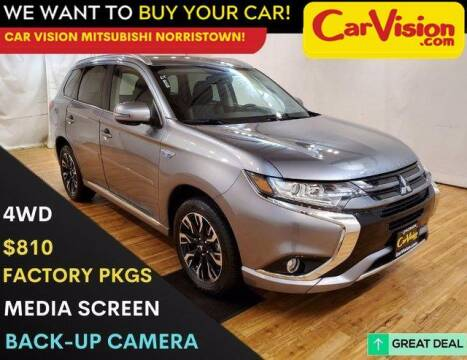 2018 Mitsubishi Outlander PHEV for sale at Car Vision Mitsubishi Norristown in Trooper PA