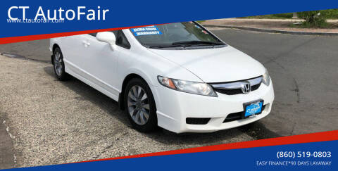 2010 Honda Civic for sale at CT AutoFair in West Hartford CT
