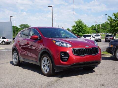 2018 Kia Sportage for sale at Szott Ford in Holly MI