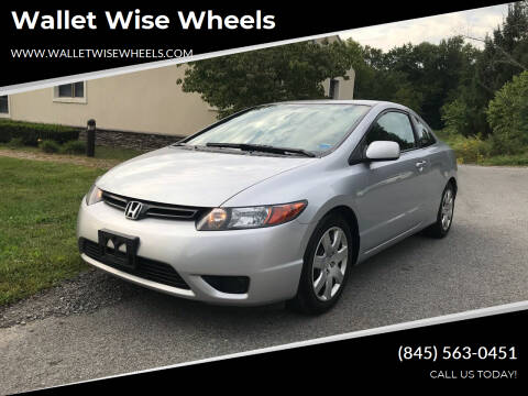 2007 Honda Civic for sale at Wallet Wise Wheels in Montgomery NY