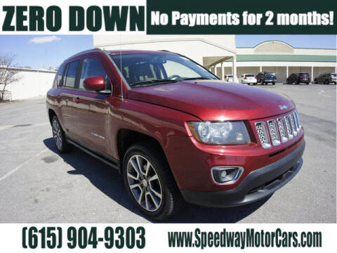 2015 Jeep Compass for sale at Speedway Motors in Murfreesboro TN