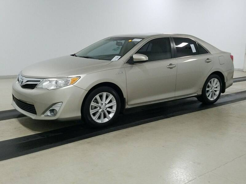 2014 Toyota Camry Hybrid for sale at Riverside Auto Sales & Service in Portland ME