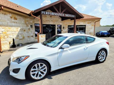 2013 Hyundai Genesis Coupe for sale at Performance Motors Killeen Second Chance in Killeen TX