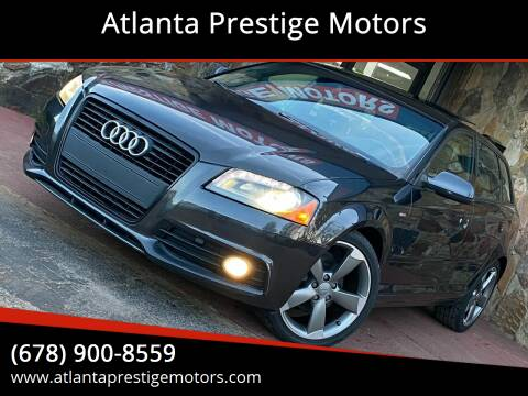 2011 Audi A3 for sale at Atlanta Prestige Motors in Decatur GA
