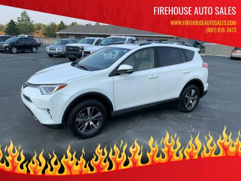 2018 Toyota RAV4 for sale at Firehouse Auto Sales in Springville UT