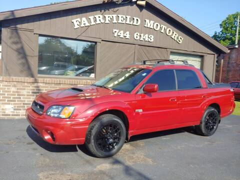 2005 Subaru Baja for sale at Fairfield Motors in Fort Wayne IN