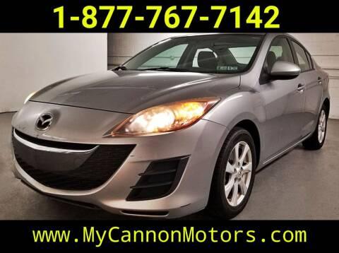 2010 Mazda MAZDA3 for sale at Cannon Motors in Silverdale PA