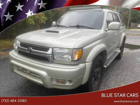 2001 Toyota 4Runner for sale at Blue Star Cars in Jamesburg NJ