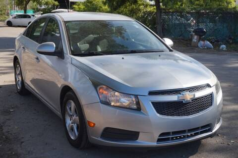 2013 Chevrolet Cruze for sale at SUPER DEAL MOTORS in Hollywood FL