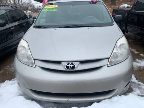 2007 Toyota Sienna for sale at LOT 51 AUTO SALES in Madison WI