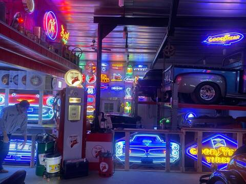 Assorted Neon Signs for sale at Ol Man Motors LLC in Louisville OH