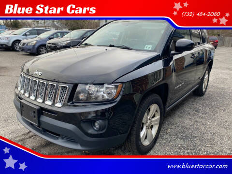 2015 Jeep Compass for sale at Blue Star Cars in Jamesburg NJ