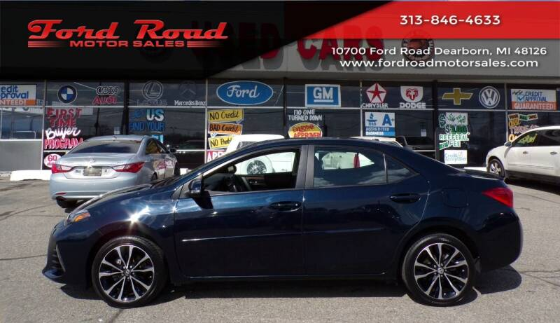 2018 Toyota Corolla for sale at Ford Road Motor Sales in Dearborn MI