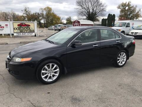 2006 Acura TSX for sale at Cordova Motors in Lawrence KS