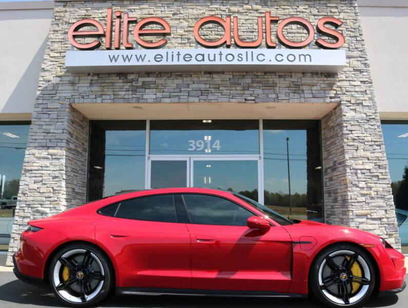 2020 Porsche Taycan for sale at Elite Autos LLC in Jonesboro AR