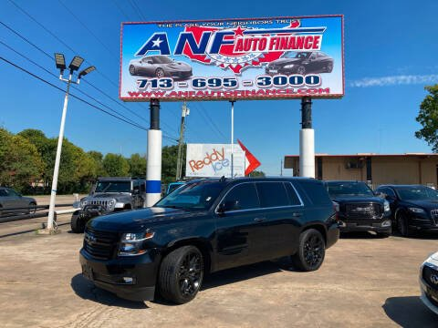 2016 Chevrolet Tahoe for sale at ANF AUTO FINANCE in Houston TX