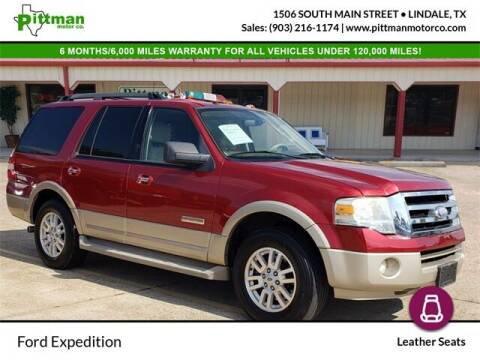 2008 Ford Expedition for sale at PITTMAN MOTOR CO in Lindale TX