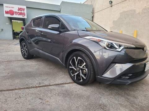2018 Toyota C-HR for sale at Joy Motors in Los Angeles CA