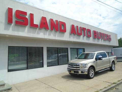 2017 Ford F-150 for sale at Island Auto Buyers in West Babylon NY