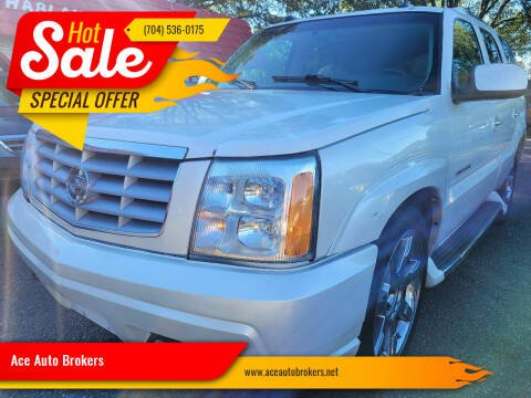 2004 Cadillac Escalade for sale at Ace Auto Brokers in Charlotte NC