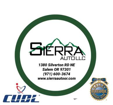 1995 Toyota Tacoma for sale at SIERRA AUTO LLC in Salem OR