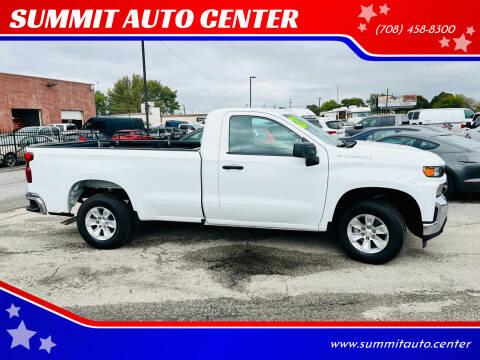 2021 Chevrolet Silverado 1500 for sale at SUMMIT AUTO CENTER in Summit IL