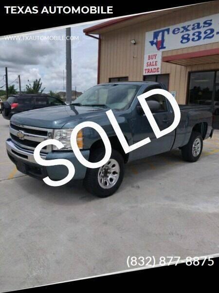 2011 Chevrolet Silverado 1500 for sale at TEXAS AUTOMOBILE in Houston TX