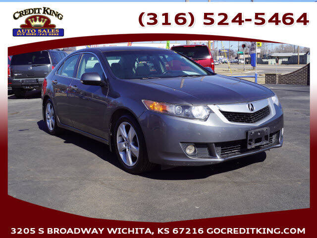 2009 Acura TSX for sale at Credit King Auto Sales in Wichita KS