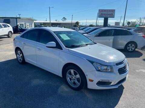2015 Chevrolet Cruze for sale at Jamrock Auto Sales of Panama City in Panama City FL