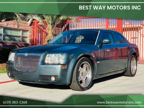 2005 Chrysler 300 for sale at BEST WAY MOTORS INC in San Diego CA