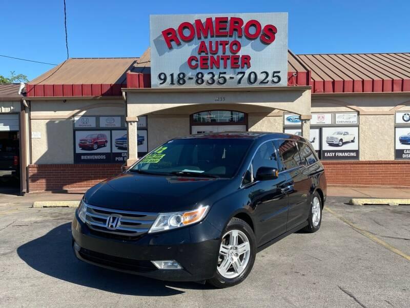 2012 Honda Odyssey for sale at Romeros Auto Center in Tulsa OK