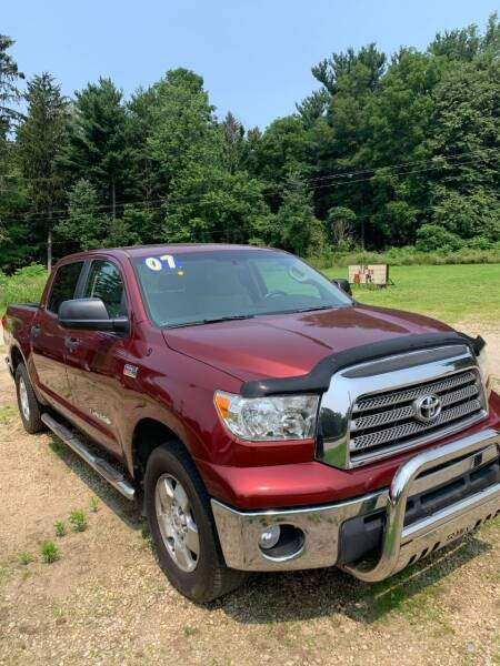 2007 Toyota Tundra for sale at Hillside Motor Sales in Coldwater MI