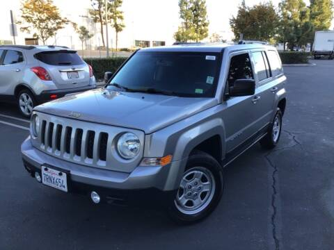 2016 Jeep Patriot for sale at Tri City Auto Sales in Whittier CA