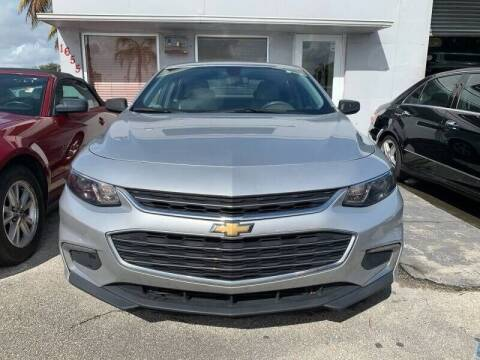 2016 Chevrolet Malibu for sale at America Auto Wholesale Inc in Miami FL